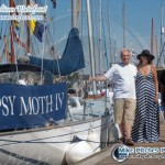 The Gipsy Moth IV returns for Sutton Harbour Classic Boat Rally 2013