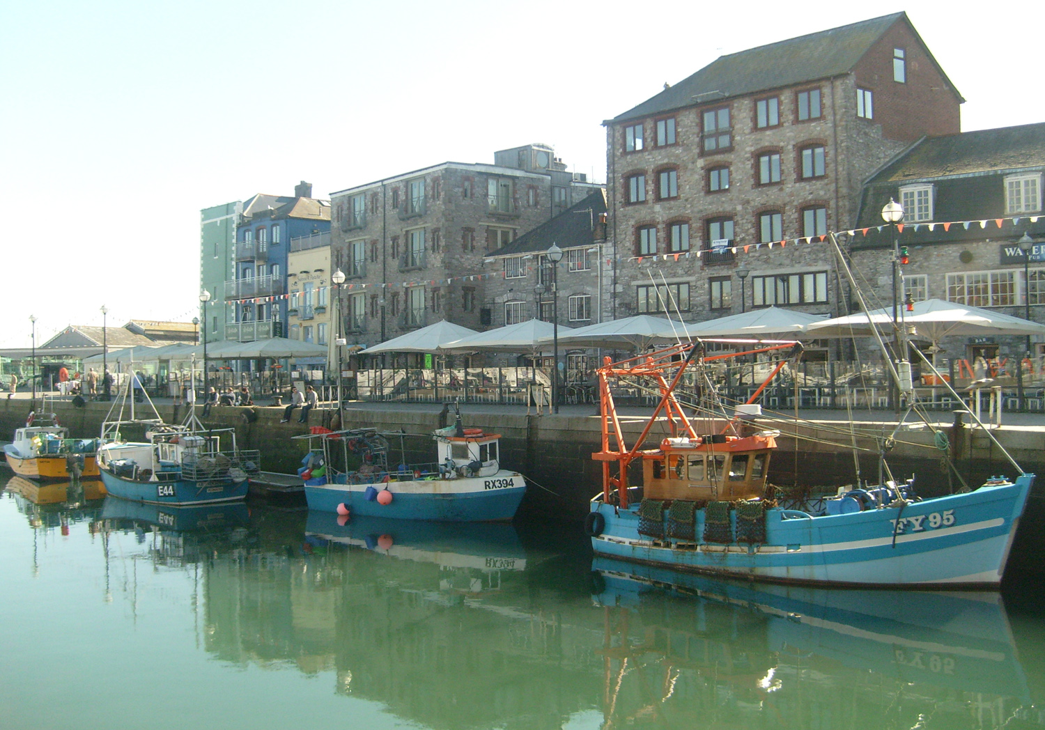 Ways to support the Barbican Waterfront website