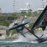 Plymouth America's Cup Day 2