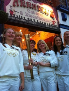 annbels plymouth barbican olympic torchbearers may 2012