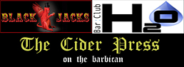 plymouth barbican pubs blackjacks cider press h2o