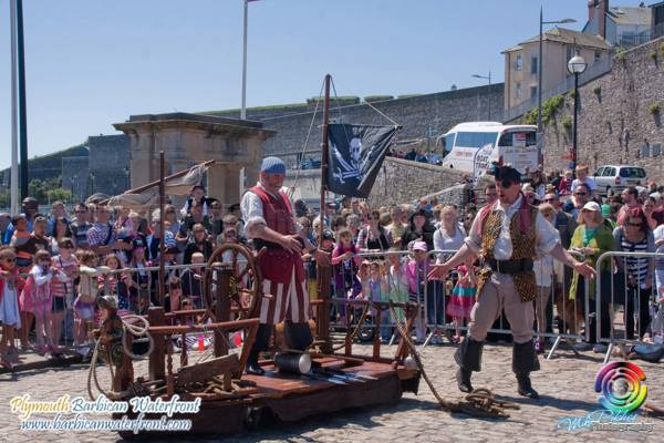 Photos from the Plymouth Barbican Pirate Weekend 2013