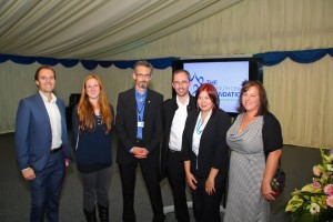 eddystone media team at the drake foundation awards
