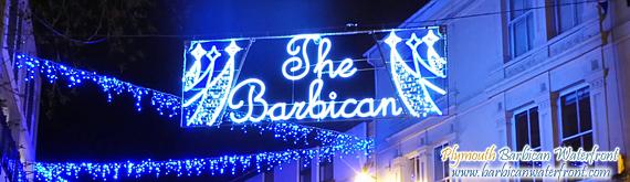 Plymouth Barbican Christmas Lights