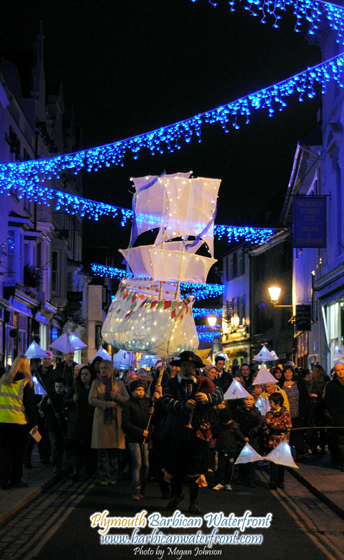 Plymouth Barbican Festival of Lights – Christmas Switch on 2013