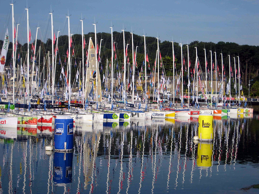 Plymouth Hosting top International Sailing Race for 2014 – La Solitaire du Figaro