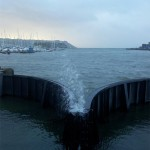 plymouth barbican lock gates storms