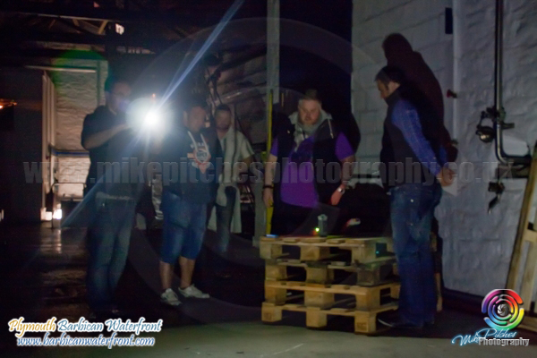 Something captured on film during paranormal investigation of Plymouth Gin