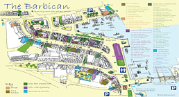Plymouth Barbican ABB Map and Guide