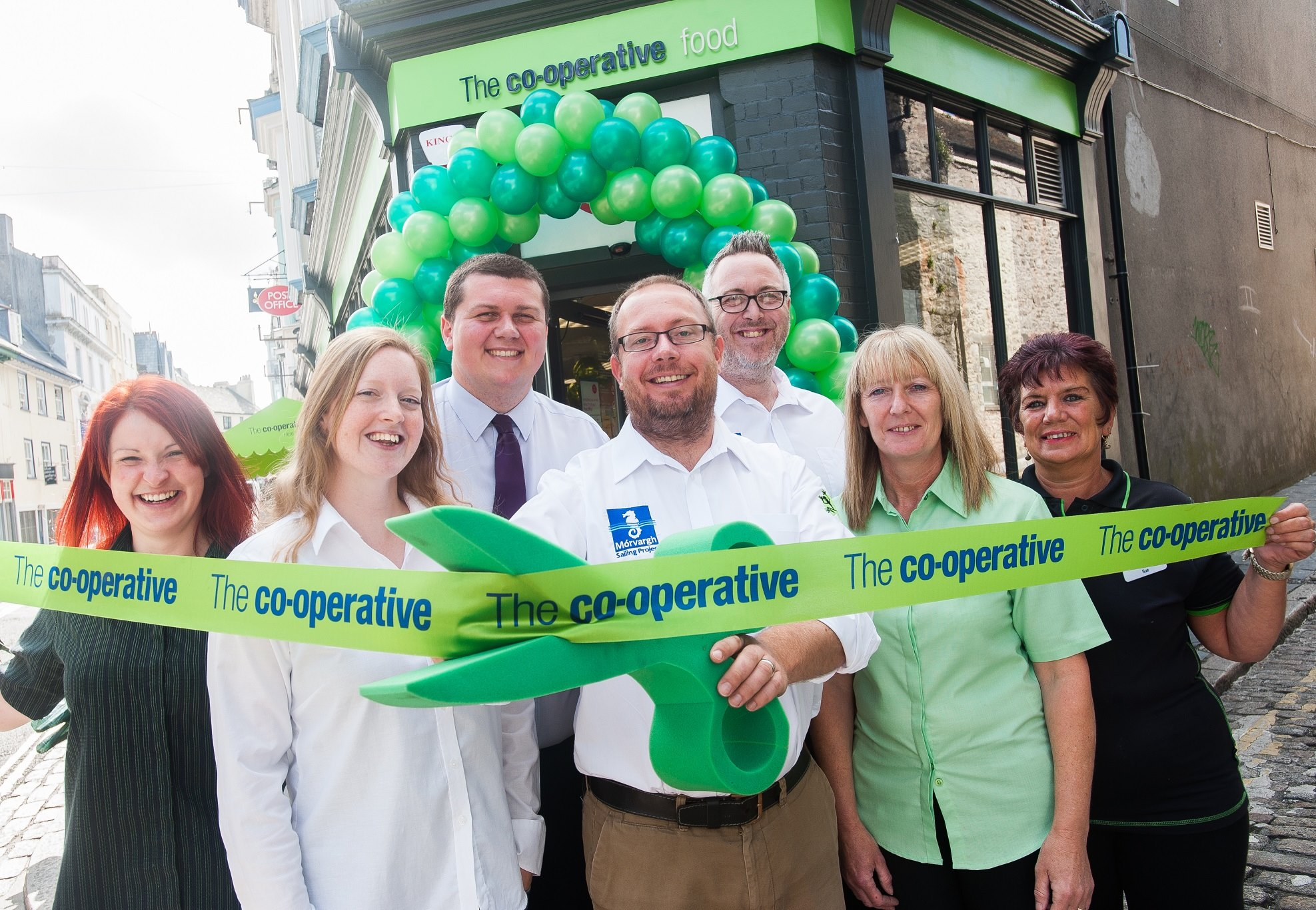 Co-Operative Shop Reopens on Southside Street, Barbican