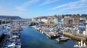 plymouth barbican harbour summer morning july 2014