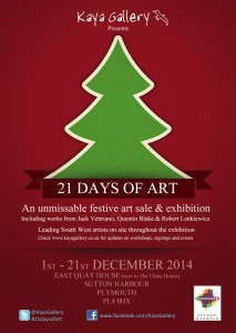 21 days of art kaya gallery sutton harbour
