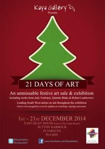 21 days of art kaya gallery sutton harbour