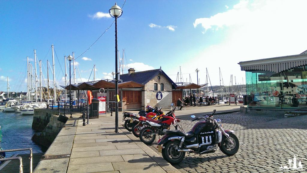 Cap n Jaspers Plymouth Barbican Harbour UK