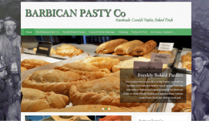 Barbican Pasty Co Website Plymouth