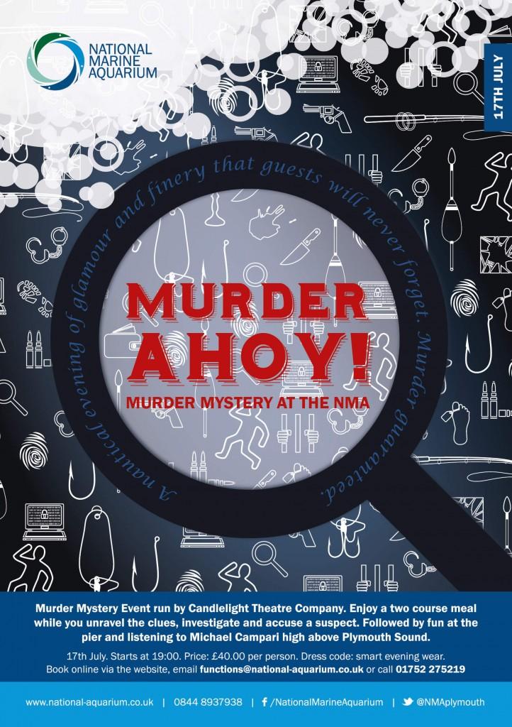 National Marine Aquarium murder mystery night