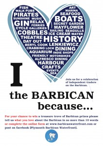 ABB I Love The Barbican Poster NEW