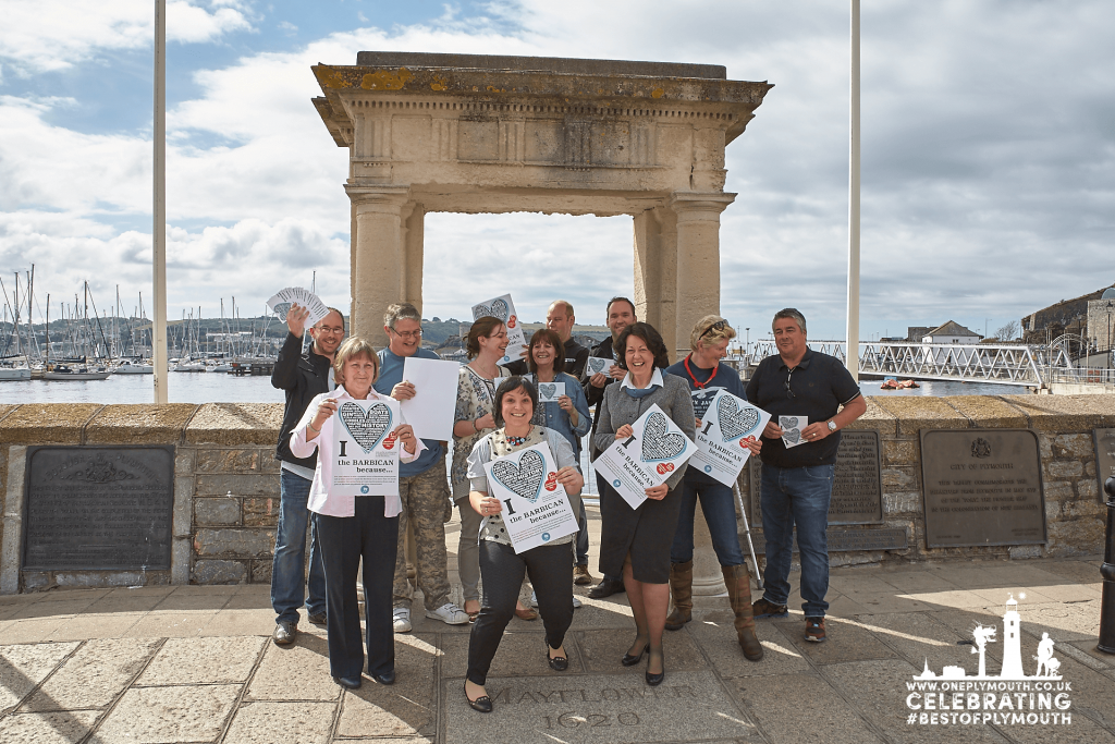 I love the Barbican Campaign 2015 - Barbican Traders Mayflower Steps web