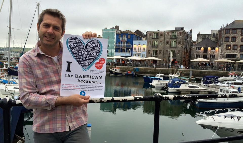 Professor Iain Stewart supporting the I Love The Barbican Campaign