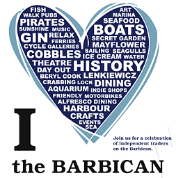 ABB Love The Barbican Poster Plymouth