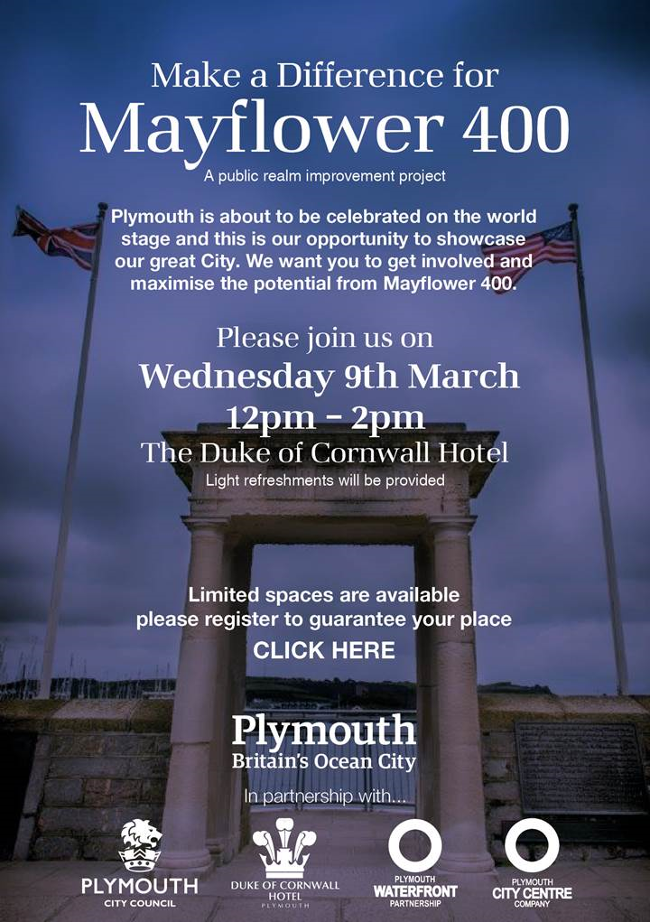 Business Event: Make a Difference for Mayflower 400