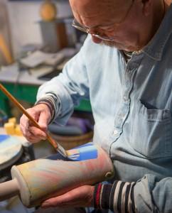45 Southside Street John Painting Pots