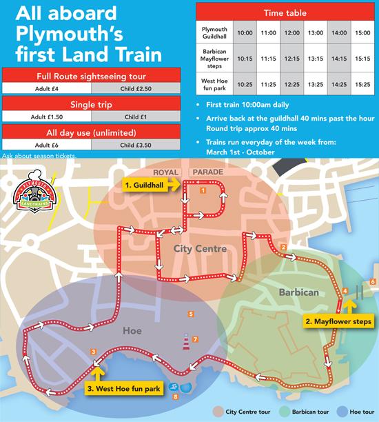 Plymouth Land Train Mayflower Express