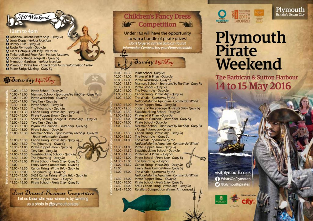 Plymouth Pirate Weekend 2016 p1