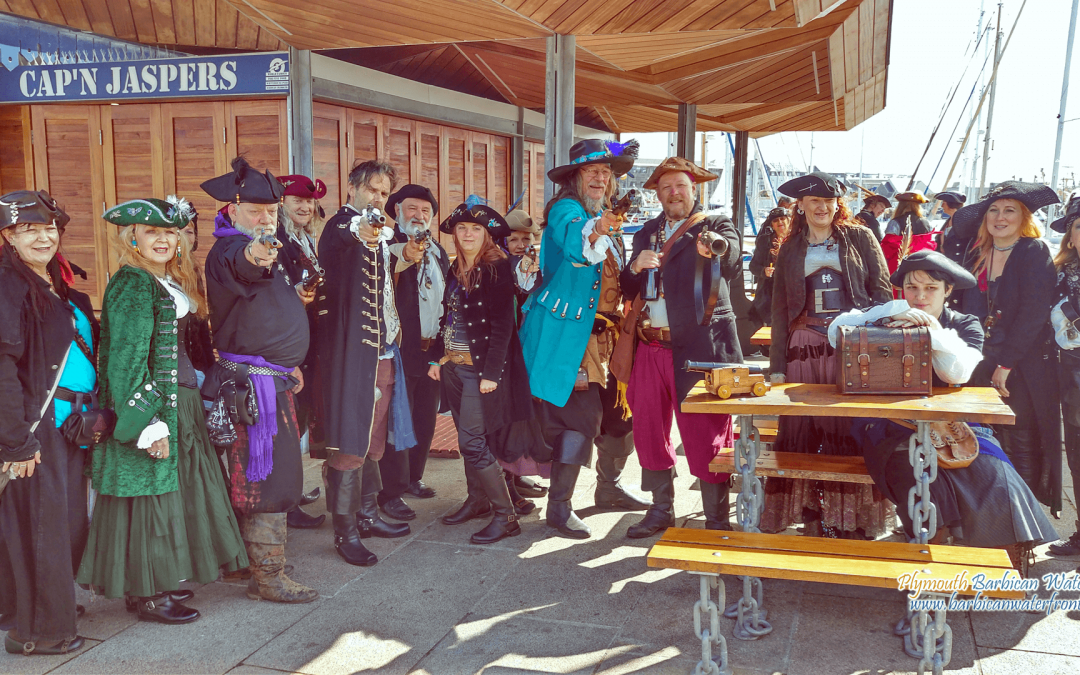 EVENT: Plymouth Pirate Weekend on 13th and 14th May 2017