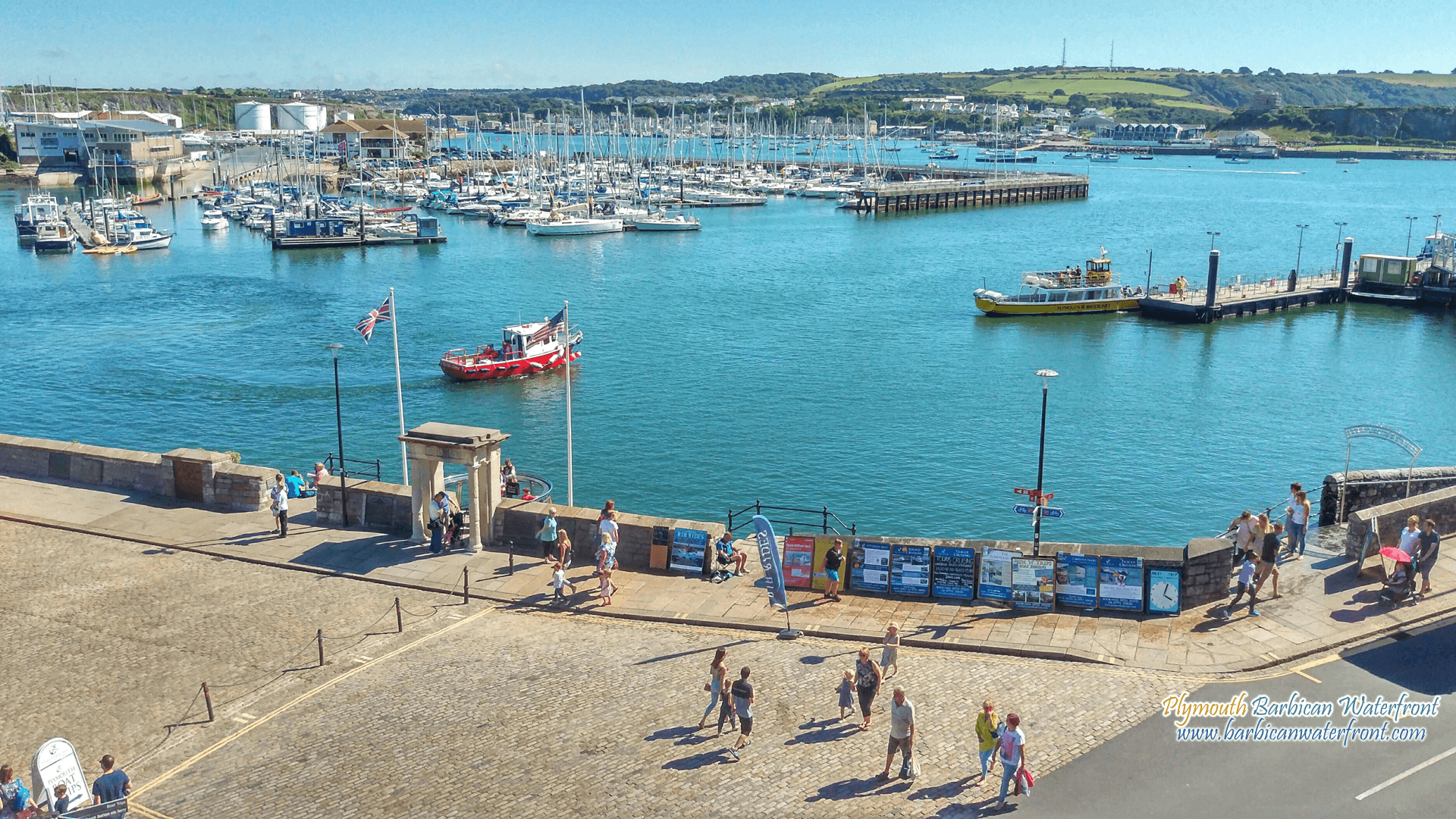Plymouth Barbican Waterfront