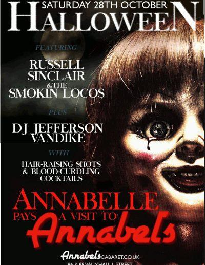 Annabels Night Club - Halloween