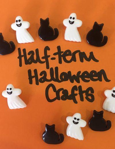 Half-Term Halloween Crafts Make 140 Barbican