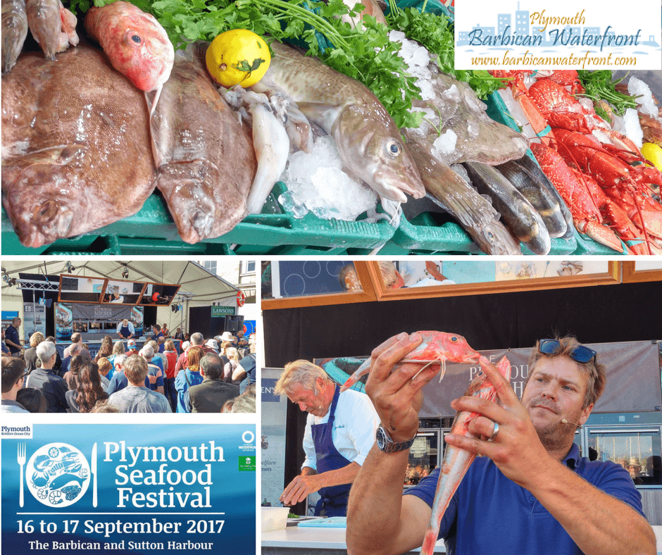 Plymouth Seafood Festival 2017 on Plymouth Barbican and Sutton Harbour