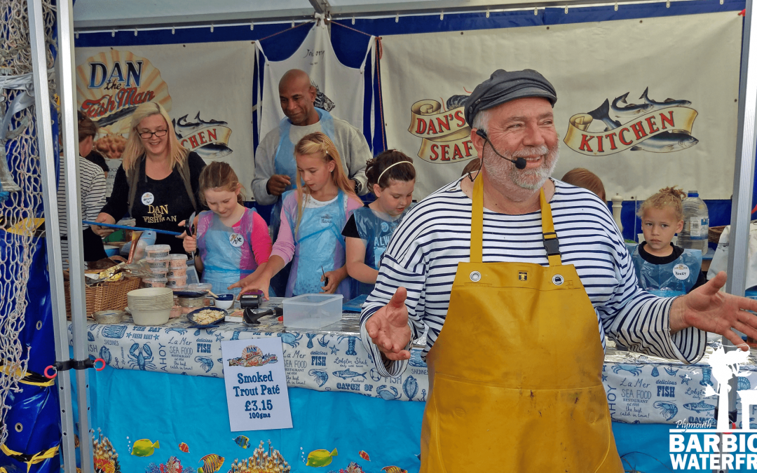 Event: Plymouth Seafood Festival 2018