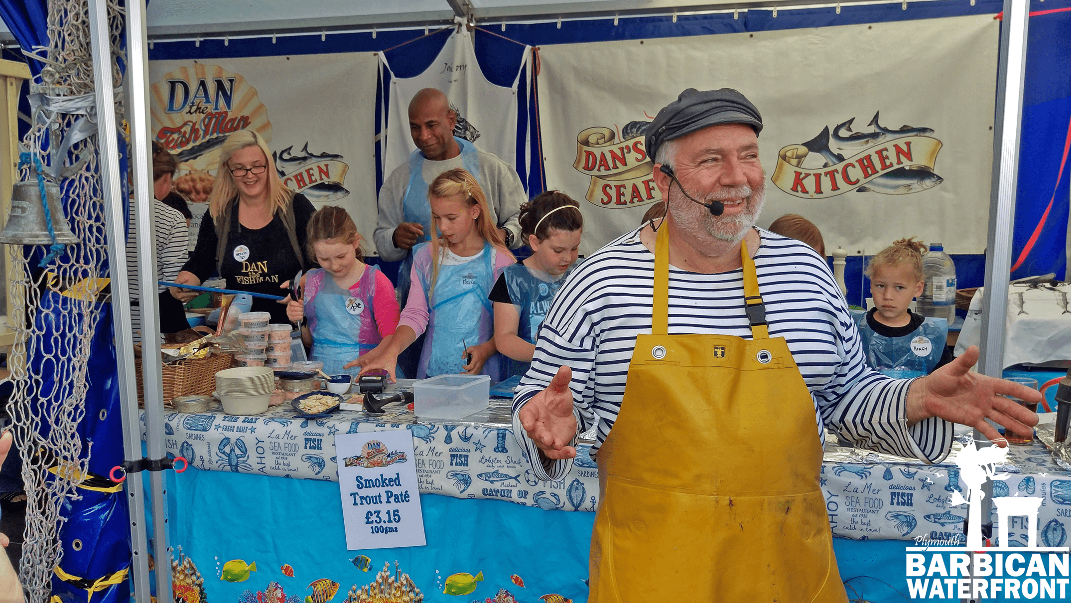 Plymouth Seafood Festival Barbican Waterfront Events