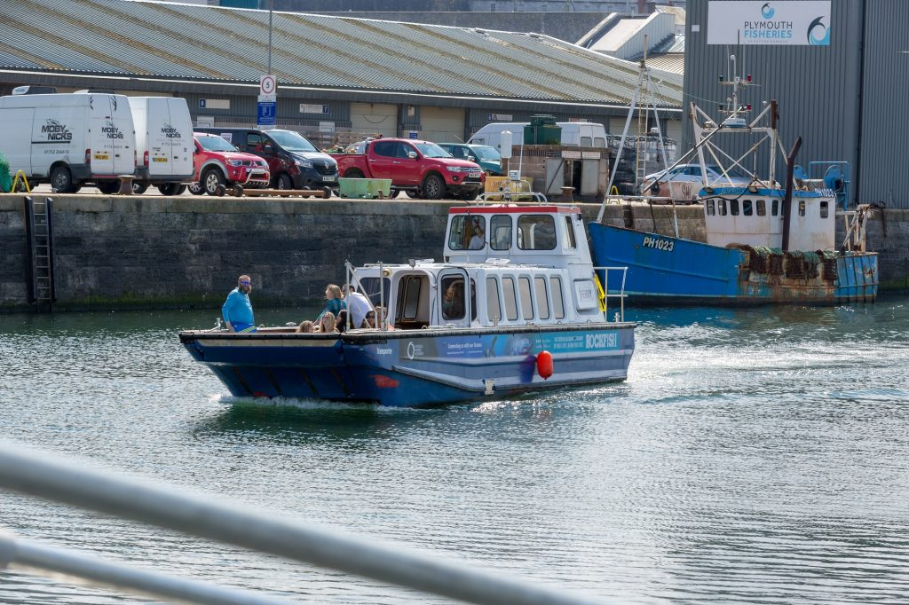 Sutton Harbour Ferry.2