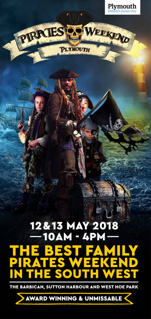 Pirates Weekend Plymouth 2018 Banner