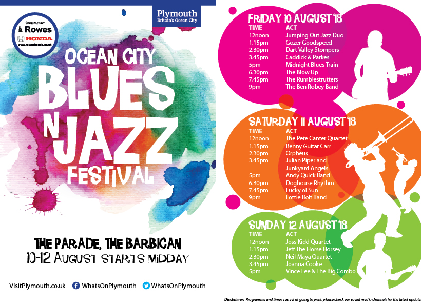 Ocean City Blues N Jazz Festival 2018