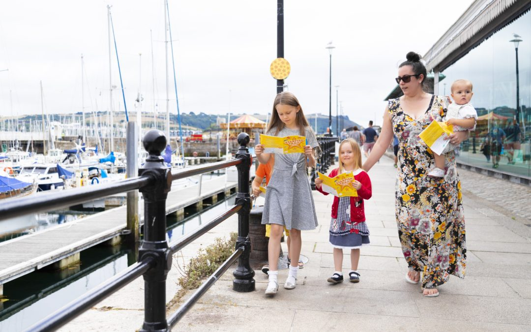 Follow Stella the Starfish for family fun in Sutton Harbour / Barbican