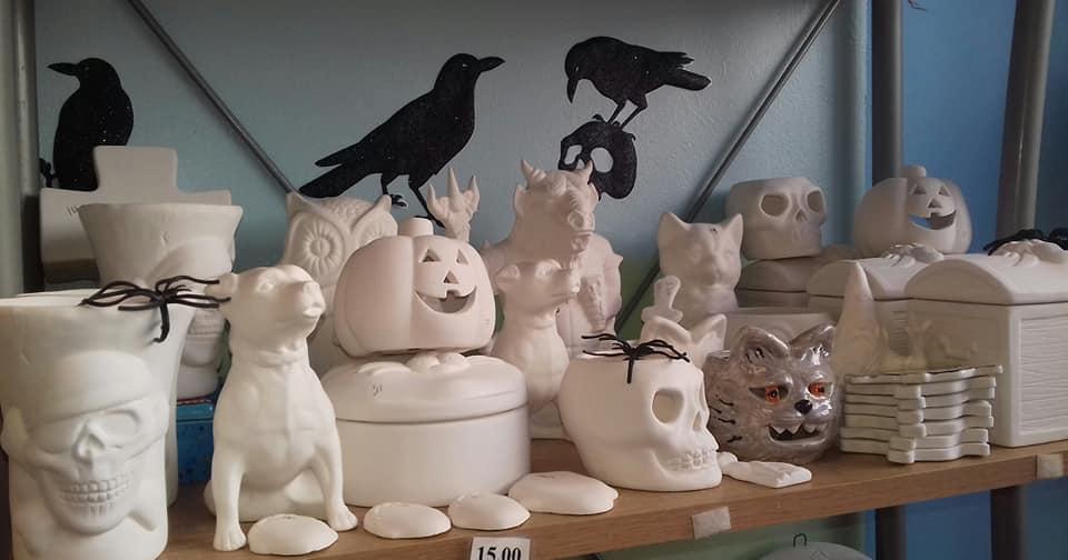 Clayart Halloween Barbican Plymouth
