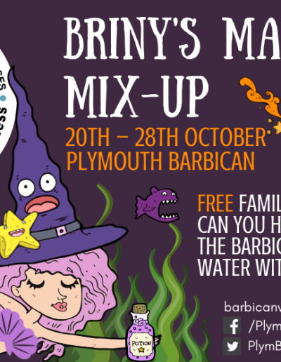 Halloween Trail on the Plymouth Barbican 2018