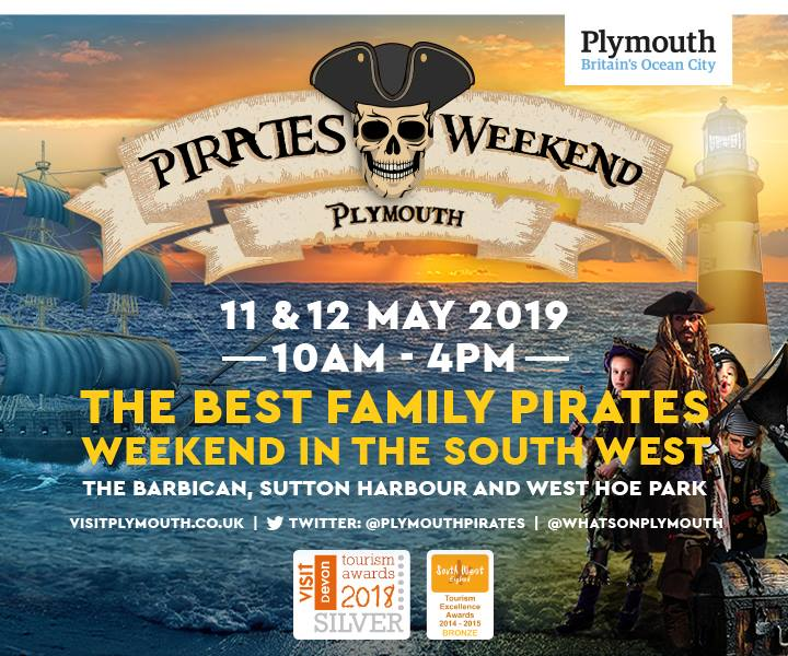 Pirates Weekend Plymouth 2019