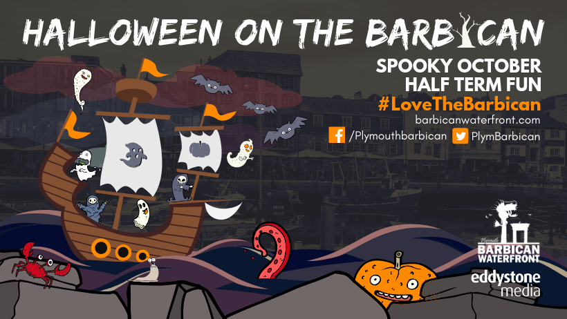 Halloween on the Plymouth Barbican