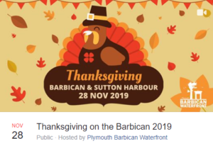 Thanksgiving Barbican Sutton Harbour Plymouth